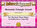 You'll get 101 humorous awards certificates appropriate for everyone ...