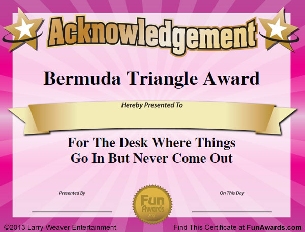 fun awards for real estate agents
