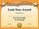 Funny Boss Award