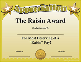 Pastor Appreciation Certificate Template http://blog.funawards.com/2010/11/pastor-appreciation-ideas.html
