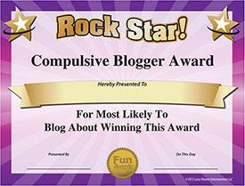 Blogger Award - Download Free Award