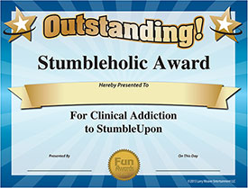 StumbleUpon Award - Download Free Award