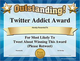 Twitter Award - Download Free Award