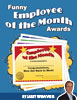 12 Funny Employee of the Month Awards