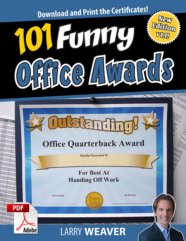 Amazing Funny Office Awards
