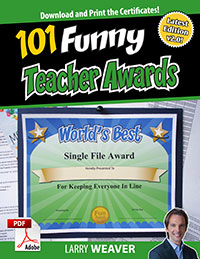 Funny Teacher Awards