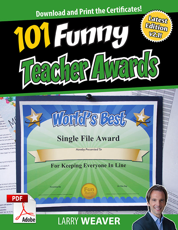 101 Funny Teacher Awards