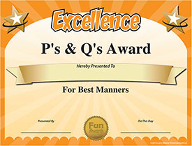 Download Funny Employee Awards Certificates