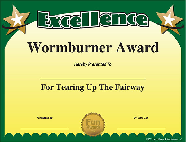 Funny Sports Awards  Free Printable Sports Award Certificates