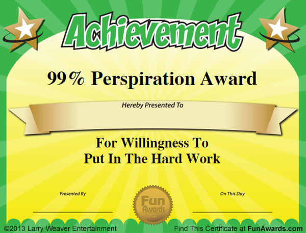 funny teacher awards 101 printable certificates fun award ideas for