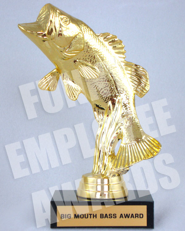 Big Mouth Bass Award