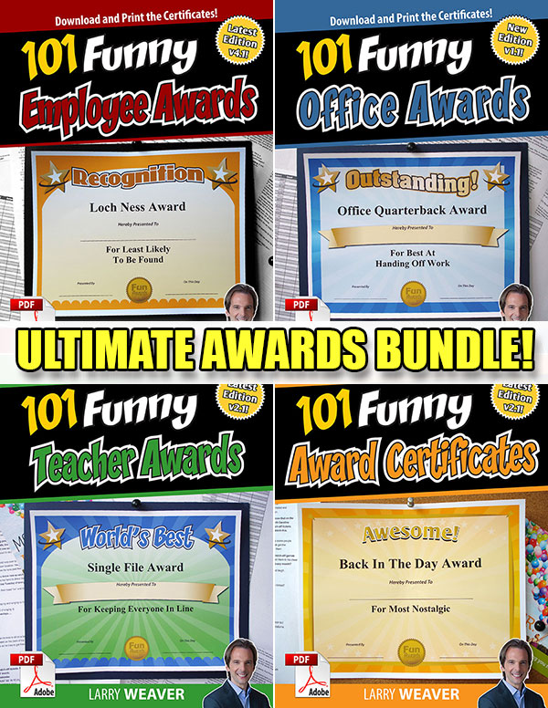 Ultimate Awards Bundle
