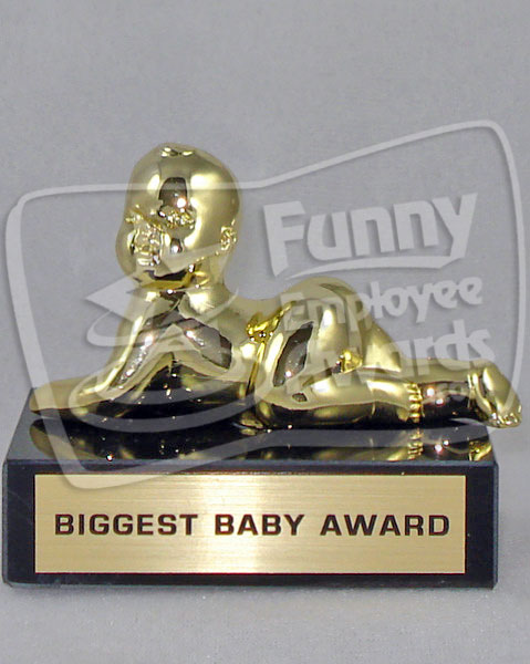 Biggest Baby Award Funny Baby Trophy Fun Trophies
